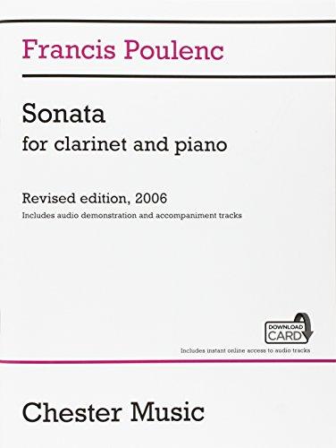 9781783059515: Francis Poulenc: Sonata for Clarinet and Piano (Audio Edition)