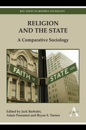 9781783080663: Religion and the State: A Comparative Sociology (Key Issues in Modern Sociology)