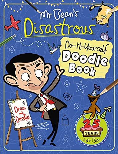 9781783121380: Mr Bean's Disastrous Do-it-Yourself Doodle Book