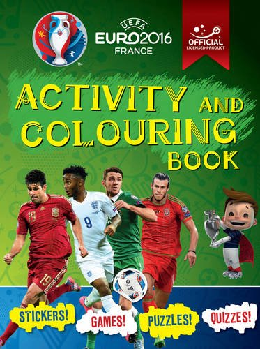 9781783121809: UEFA Euro 2016 France Activity and Colouring Book