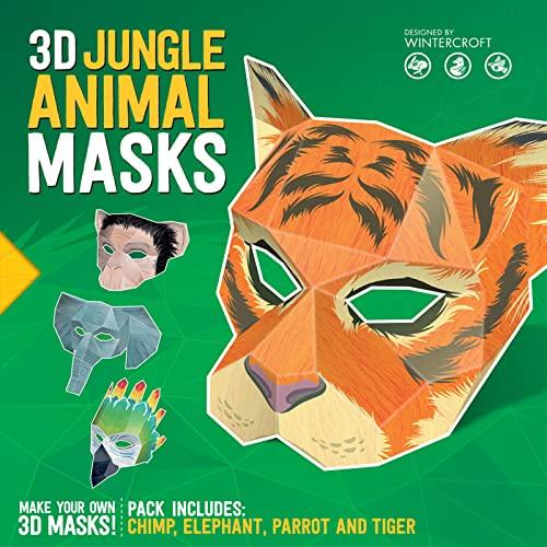 9781783122639: 3D Jungle Animal Masks