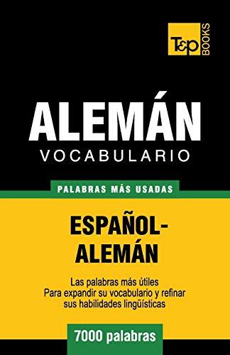 9781783140039: Vocabulario español-alemán - 7000 palabras más usadas (T&P Books)