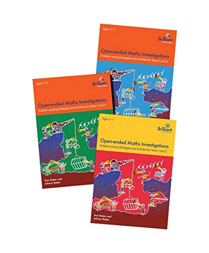 9781783171873: Open-ended Maths Investigations for Primary Schools Series Pack: Maths Problem-solving Strategies for Years 1-6