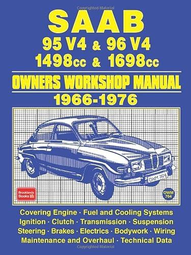 Saab 95 V4 & 96 V4 1498cc: Brooklands Books Ltd