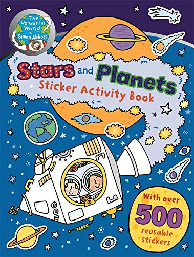 9781783252053: The Wonderful World of Simon Abbott: Stars and Planets Sticker Activity Book
