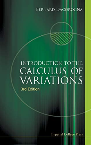 9781783265510: Introduction to the Calculus of Variations (3rd Edition)