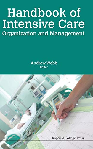 9781783269501: Handbook Of Intensive Care Organization And Management