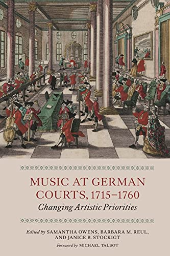 9781783270583: Music at German Courts, 1715-1760