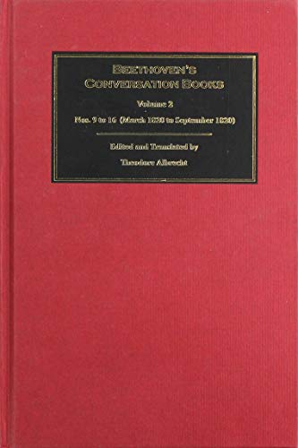 9781783271511: Beethoven's Conversation Books: Volume 2: Nos. 9 to 16 (March 1820 to September 1820) (0)
