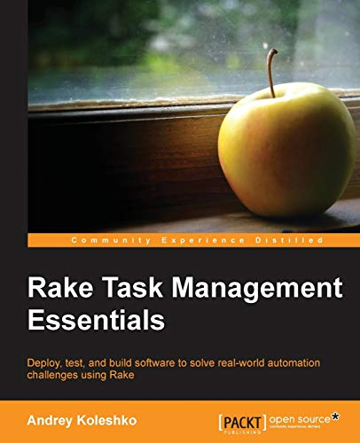 9781783280773: Rake Task Management Essentials