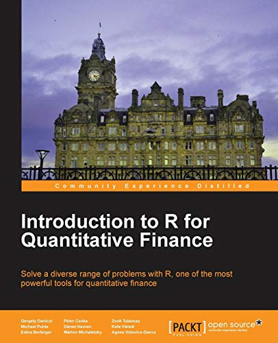 9781783280933: Introduction to R for Quantitative Finance