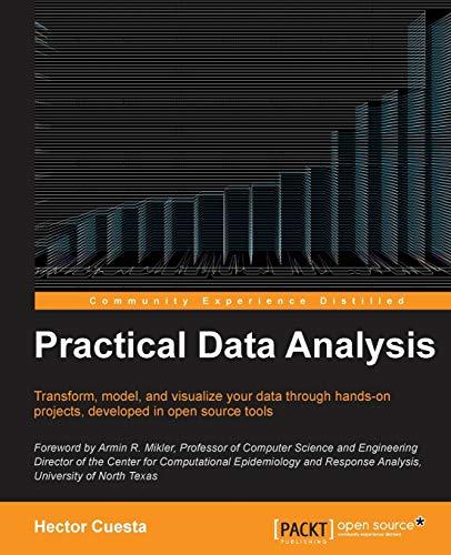 9781783280995: Practical Data Analysis