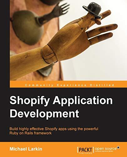 9781783281053: Shopify Application Development