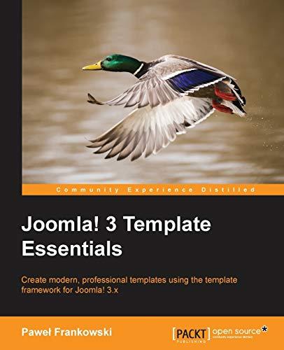 Joomla! 3 Template Essentials: Pawel Frankowski