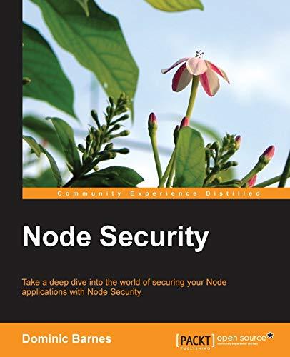 9781783281497: Node Security