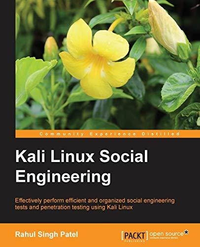 9781783283279: Kali Linux Social Engineering