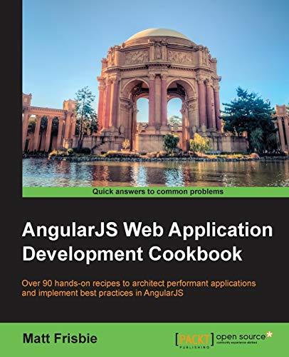9781783283354: AngularJS Web Application Development Cookbook
