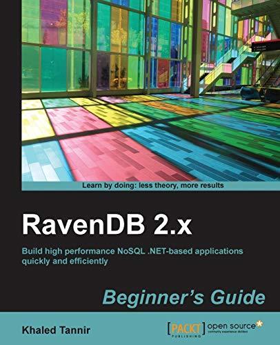 9781783283798: RavenDB 2.x beginner's guide
