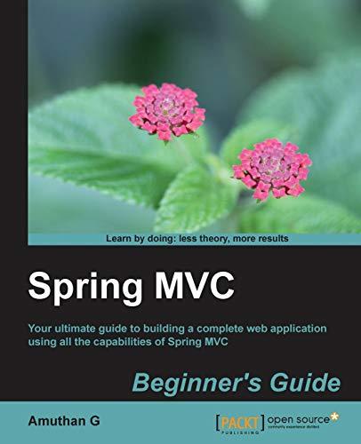 9781783284870: Spring MVC: Beginner's Guide