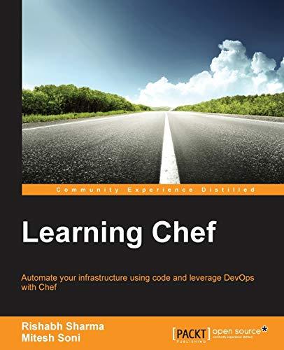 Learning Chef: Soni, Mitesh; Sharma, Rishabh