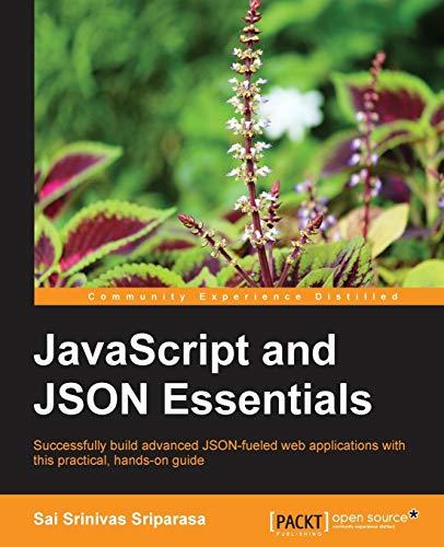 9781783286034: JavaScript and JSON Essentials