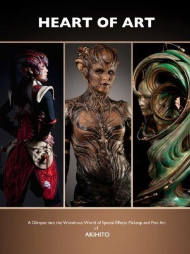 9781783290895: The Heart of Art: A Glimpse into the Wondrous World of Special Effects Makeup and Fine Art of Akhito
