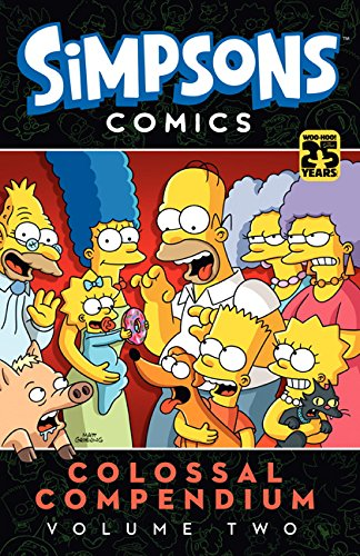 9781783292103: Simpsons Comics - Colossal Compendium