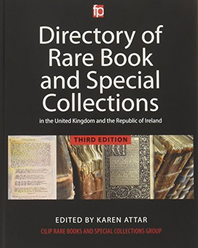 Directory of Rare Book and Special Collections in the UK and Republic of Ireland: Karen Attar