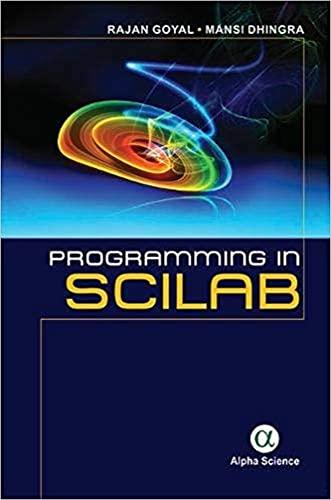9781783324019: Programming in Scilab