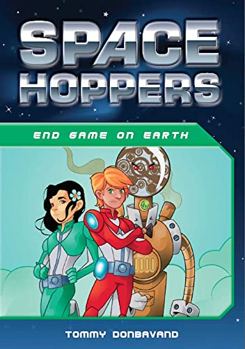 Space Hoppers End Game on Earth: Tommy Donbavand