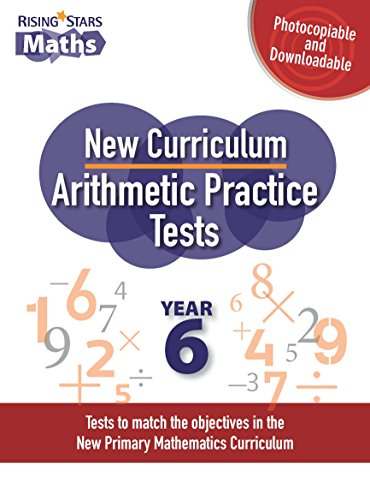 9781783393824: New Curriculum Arithmetic Tests Year 6: Year 6