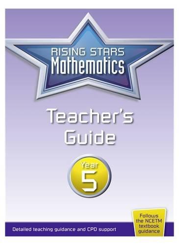 9781783395323: Rising Stars Mathematics Year 5 Teacher's Guide