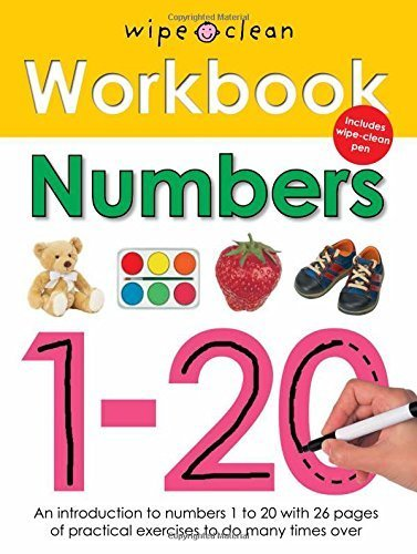 9781783410736: Numbers 1-20 (Wipe Clean Workbooks)