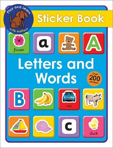 Letters and Words (Play and Learn with Wallace): Priddy, Roger