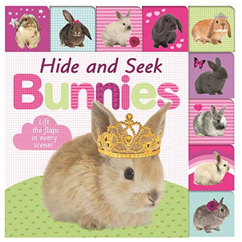 Hide and Seek Bunnies (Lift-the-flap Tab Books): Priddy, Roger