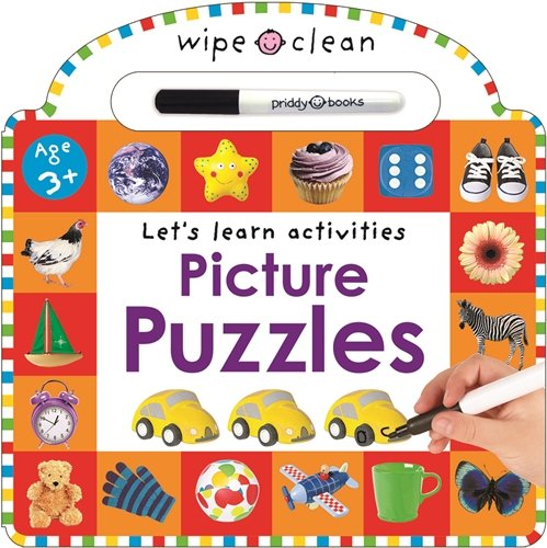 Picture Puzzles (Wipe Clean Learning): Priddy, Roger
