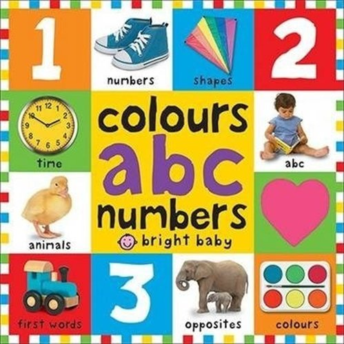 9781783412020: Colours ABC Numbers (First 100 Board Books)