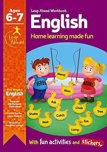 9781783432547: English Age 6-7 (Leap Ahead Workbook Expert)