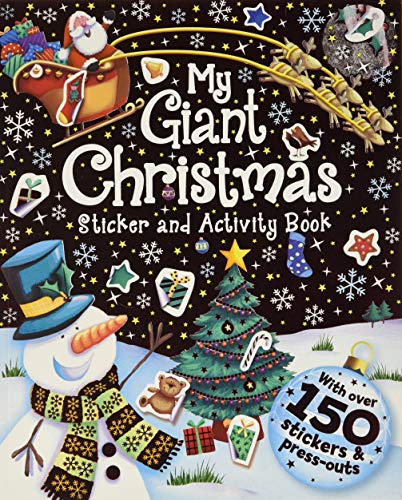 My Giant Xmas Sticker & Activity Book
