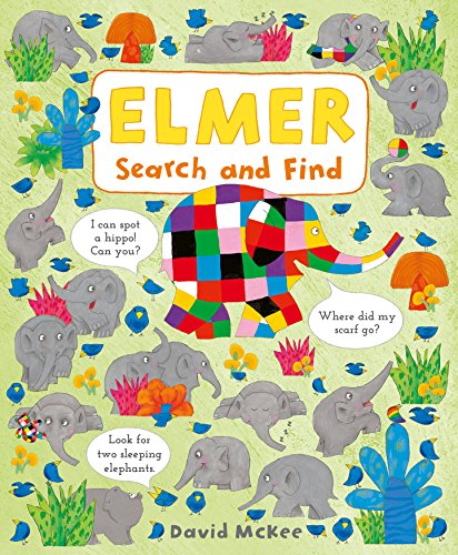9781783447893: Elmer Search and Find: 1 (Elmer Picture Books)
