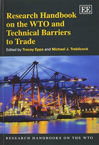 9781783470341: Research Handbook on the WTO and Technical Barriers to Trad (Research Handbooks on the WTO series)