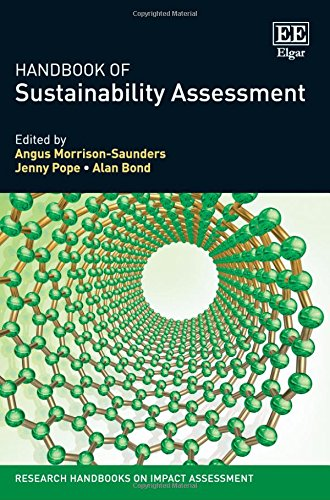 9781783471362: Handbook of Sustainability Assessment (Research Handbooks on Impact Assessment series) (Elgar Original reference)