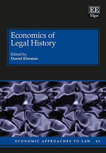 Economics of Legal History: Klerman, Daniel (EDT)