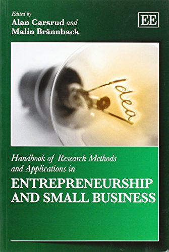 9781783472819: Handbook of Research Methods and Applications in Entrepreneurship and Small Business (Handbooks of Research Methods and Applications Series)