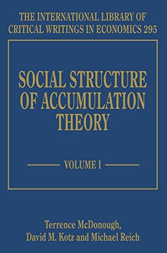Social Structure of Accumulation Theory (Hardback): Terrence McDonough; David M. Kotz; Michael ...