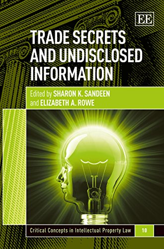 Trade Secrets and Undisclosed Information: Sandeen, Sharon K. (EDT)/ Rowe, Elizabeth A. (EDT)