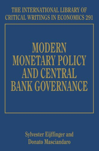 9781783472970: Modern Monetary Policy and Central Bank Governance ( The International Library of Critical Writings in Economics series)