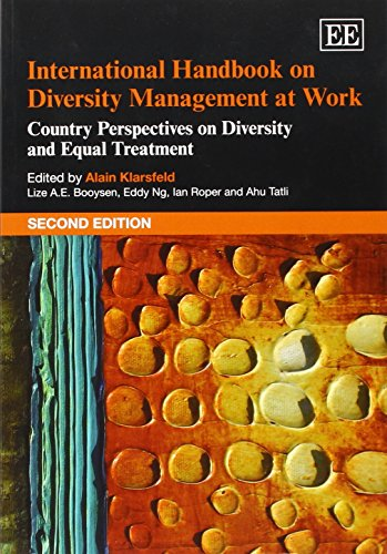 9781783474271: International Handbook on Diversity Management at Work: Country Perspectives on Diversity and Equal Treatment (Research Handbooks in Business and Management series)