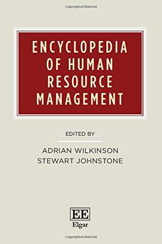 9781783475452: Encyclopedia of Human Resource Management