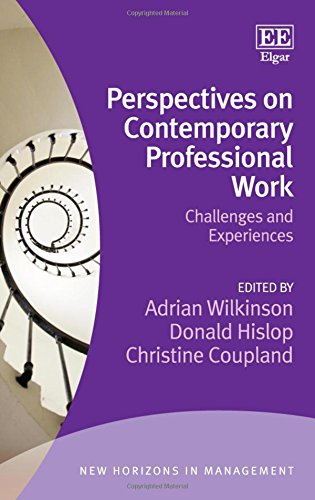 9781783475575: Perspectives on Contemporary Professional Work: Challenges and Experiences (New Horizons in Management series)